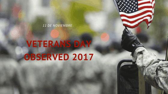 Día de los Veteranos 2017